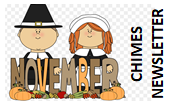 NOVEMBER CHIMES NEWSLETTER