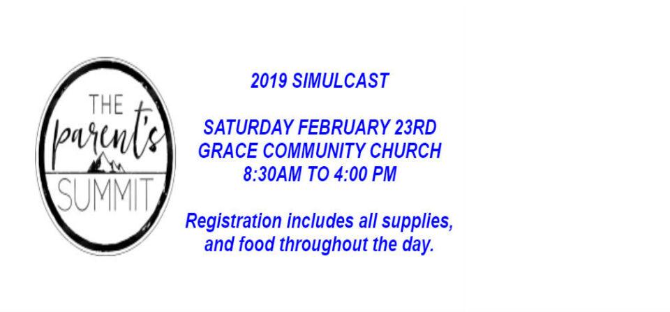 Parent's Summit 2019 Simulcast
