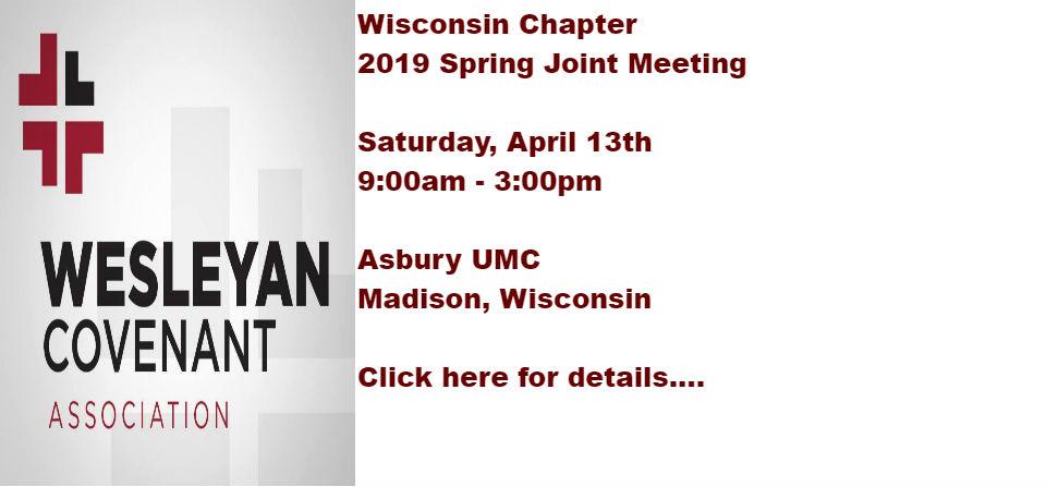 WACUM / WCA – Wisconsin Chapter Joint Spring Meeting