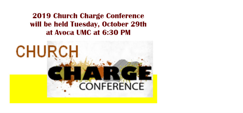 2019 Charge Conference